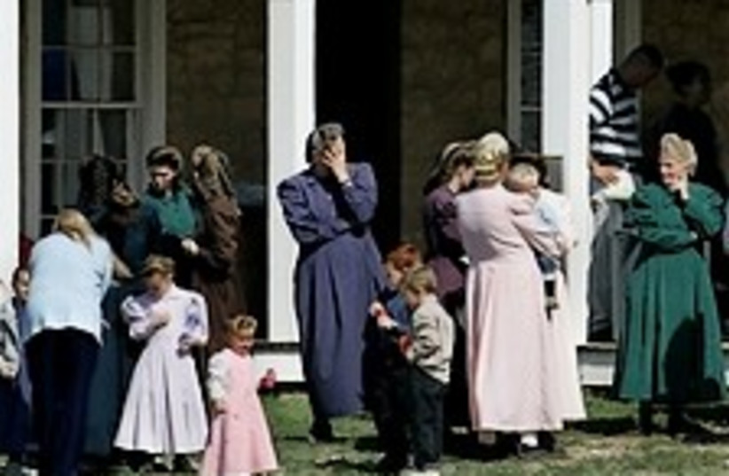 polygamist ranch 224.88  (photo credit: AP)