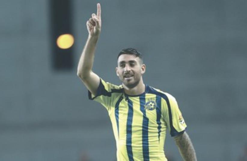 MACCABI TEL AVIV striker Eliran Atar 370 (photo credit: Adi Avishai)