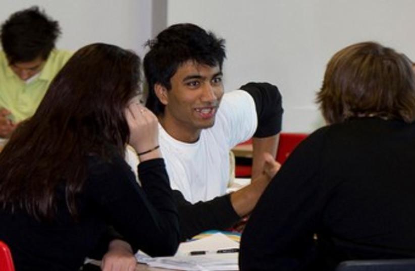 students (photo credit: Wikicommons)