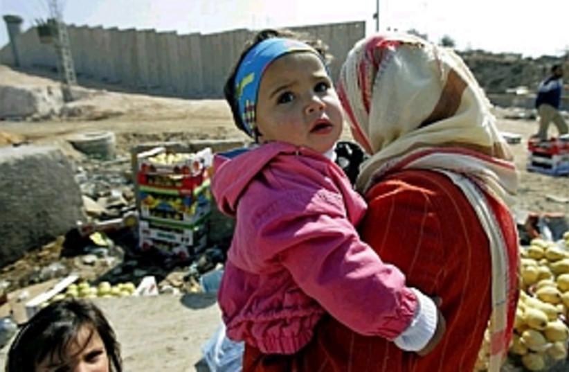 palestinan woman 298 ap (photo credit: AP)