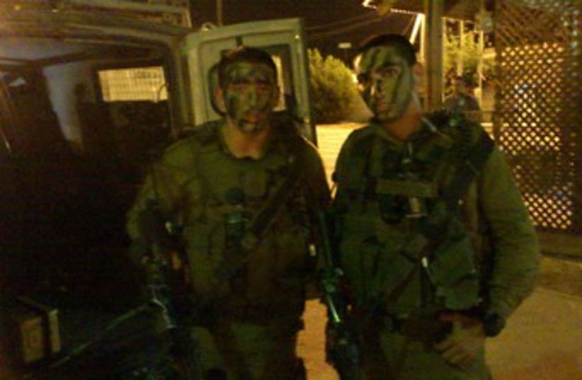 Kfir Brigade soldiers 370 (photo credit: YAAKOV LAPPIN)