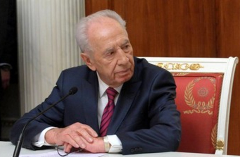 President Shimon Peres 370 (photo credit: Mark Neiman/GPO)