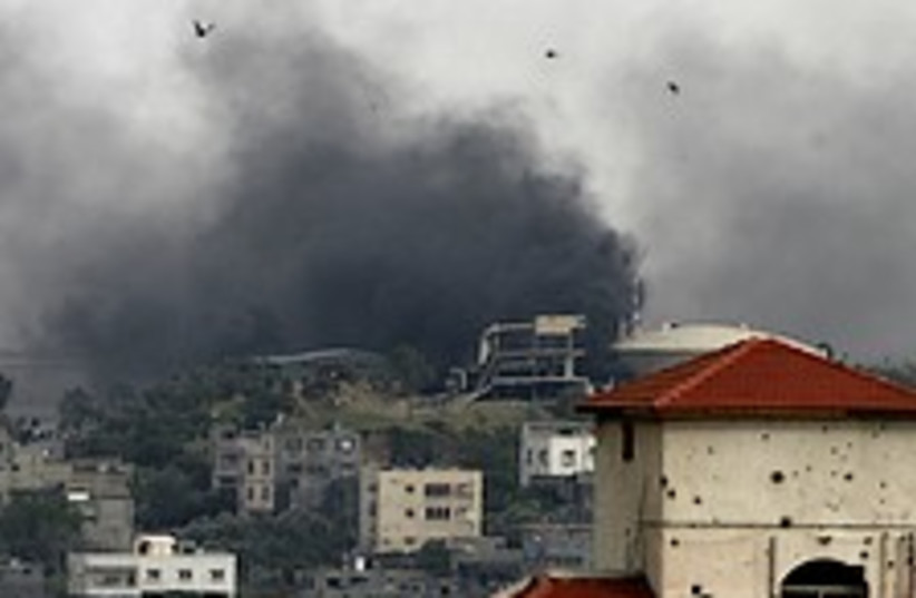 Gaza Smoke 224.88 (photo credit: AP)
