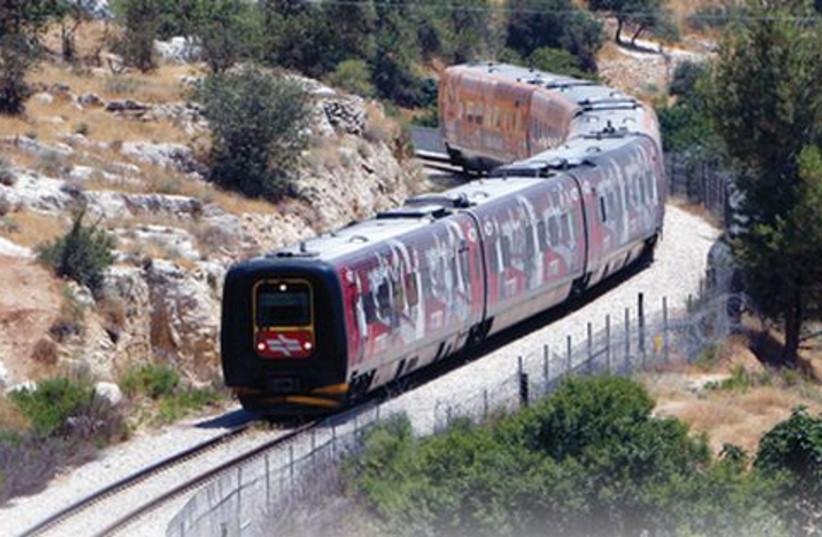 train 521 (photo credit: Reuters)