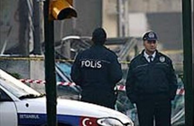 Turkish police 224.88 (photo credit: AP)