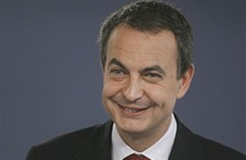 Zapatero 224.88 (photo credit: AP)