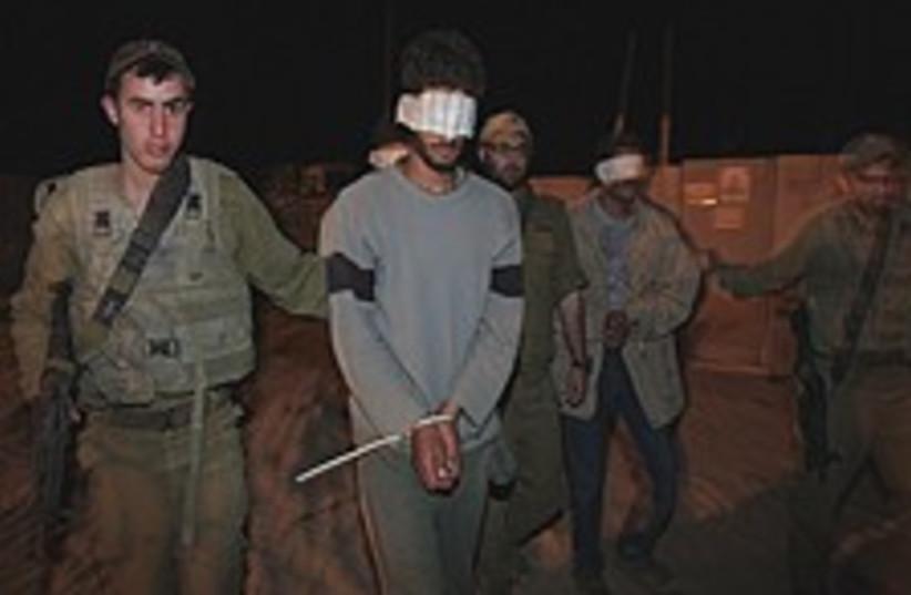 Gaza arrest fab 224.88 (photo credit: AP)