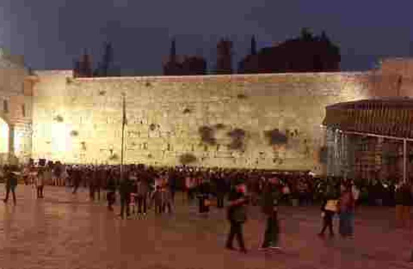 kotel IDF prayers 521 (photo credit: Deborah Danan)