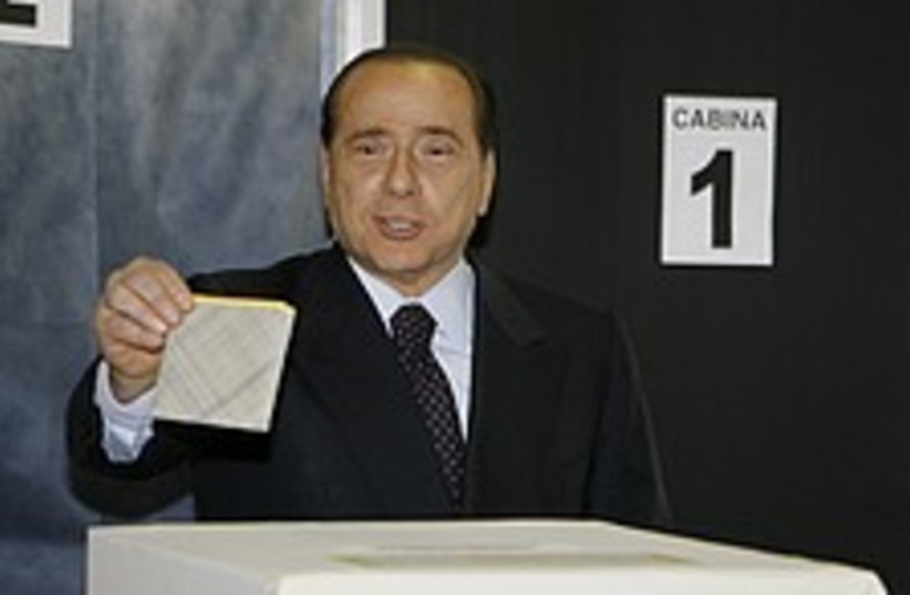 Silvio Berlusconi 224.88 (photo credit: AP)