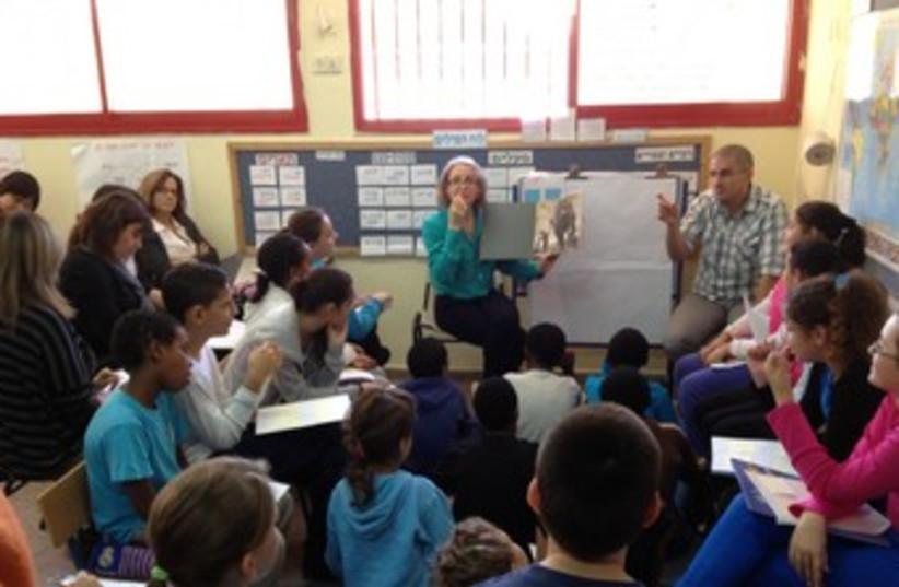 Petah Tikva school 370 (photo credit: Courtesy )