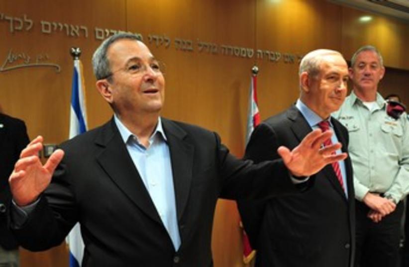Barak resigns 370 (photo credit: Ariel Hermoni, Defense Ministry)