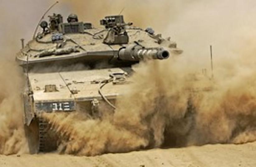 Tank mean 298 (photo credit: AP)