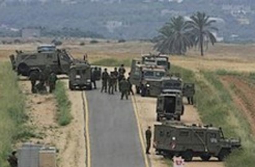 IDF gaza wait 248.88 (photo credit: AP [file])