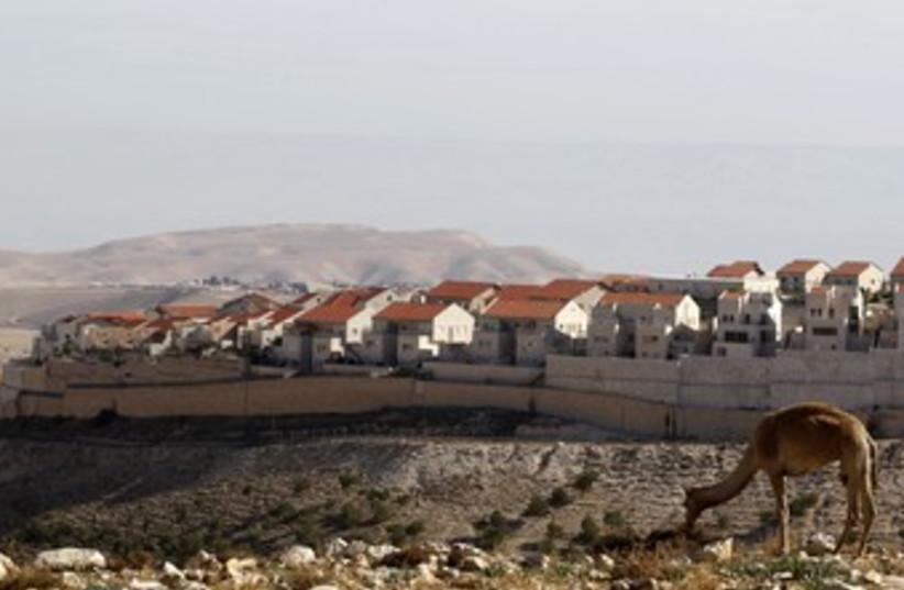 Maaleh Adumim 370 Dec 2012 (photo credit: Reuters/Baz Ratner)