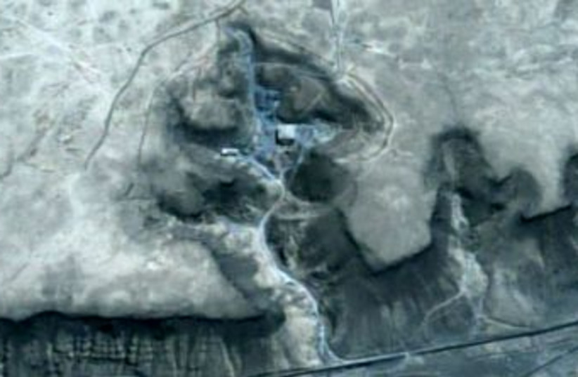 Satellite images of suspect sites in Syria 370 (R) (photo credit: Reuters / Handout)