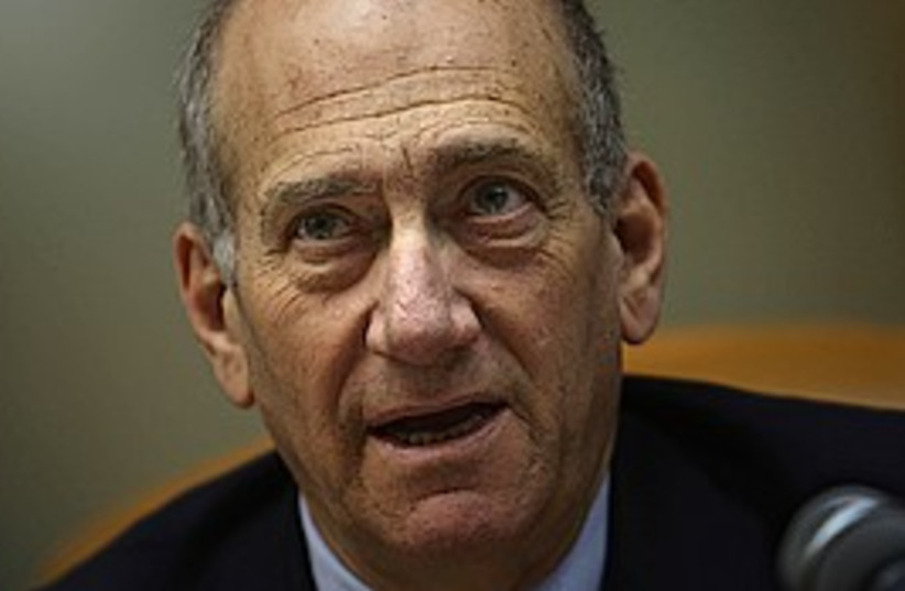 Olmert 298 (photo credit: AP)