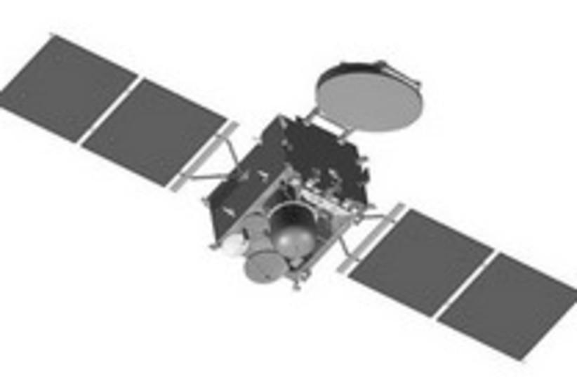 amos 3 satellite (photo credit: IAI)