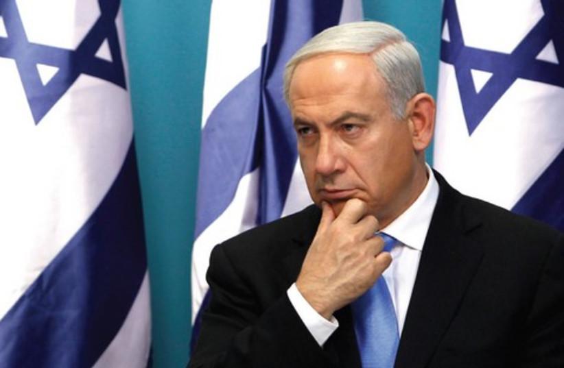 Netanyahu Ratner 521 (photo credit: Baz Ratner/Reuters)