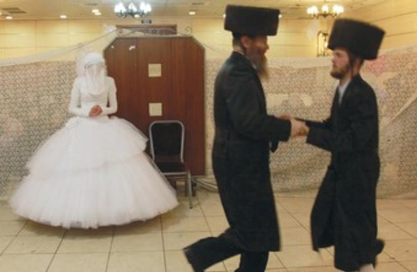 Haredi Wedding (photo credit: MARC ISRAEL SELLEM/The Jerusalem Post)