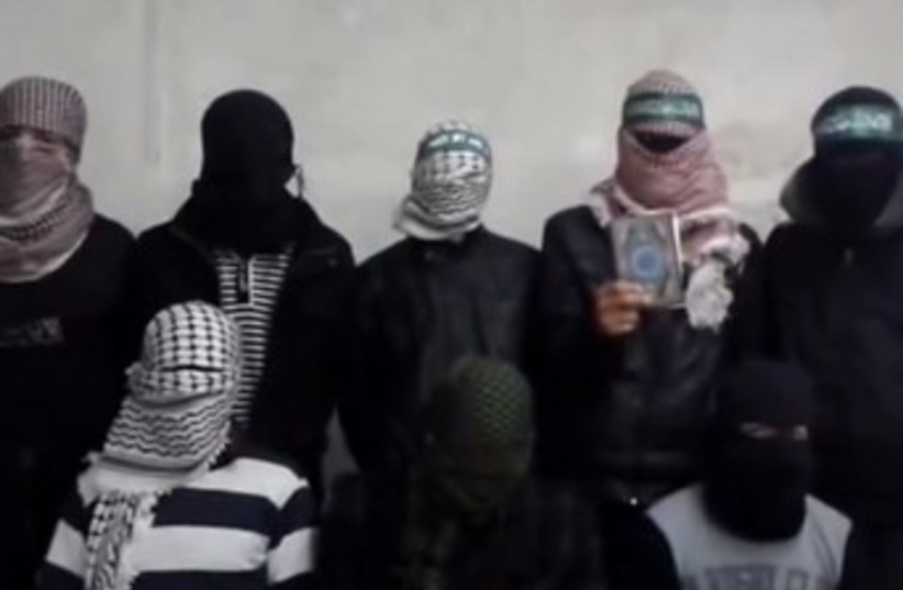 New Palestinian group announces 3rd intifada 370 (photo credit: YouTube screenshot)
