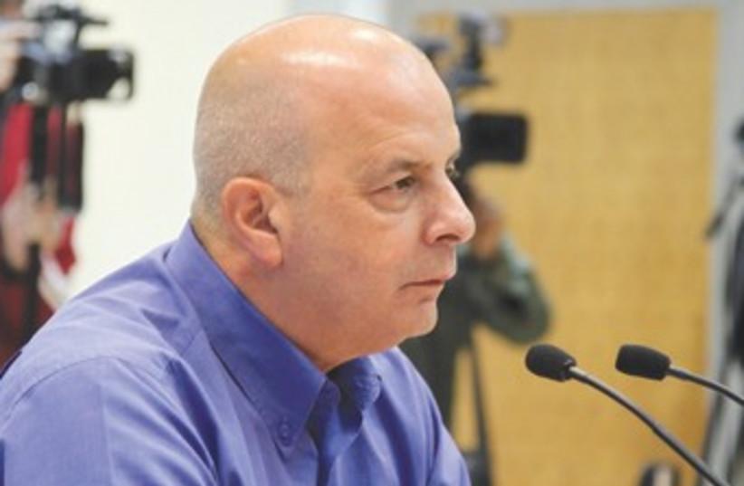 Yuval Diskin (photo credit: Marc Israel Sellem/The Jerusalem Post)