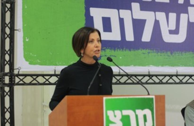 Meretz Party head Zahava Gal-On 370 (photo credit: ben hartman)