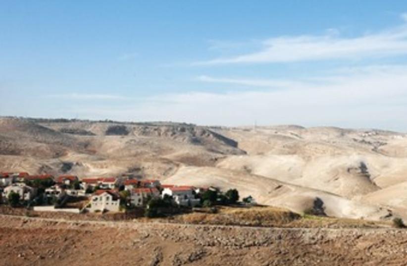 E1 area 370 (photo credit: Marc Israel Sellem/The Jerusalem Post)