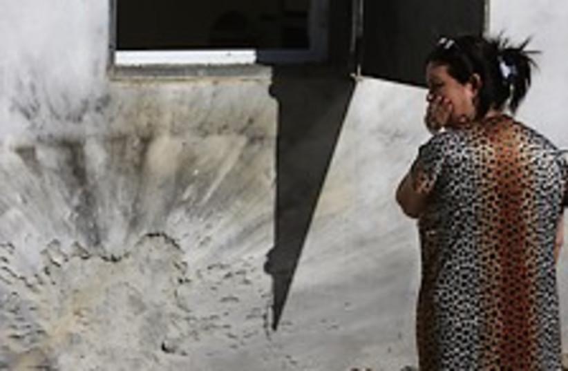 Sderot damage 224.88 (photo credit: AP)