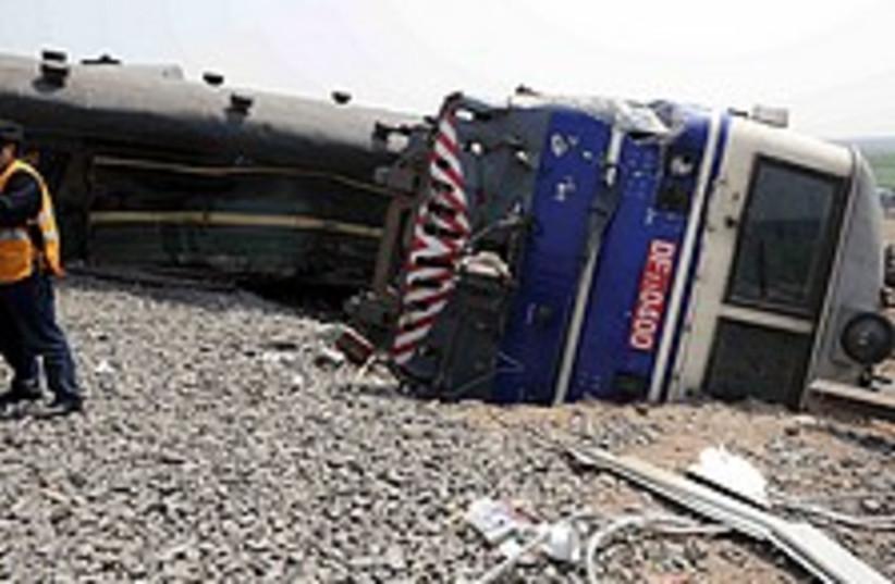 China train crash  224.8 (photo credit: AP)