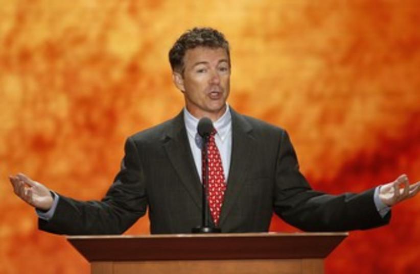 US Senator Rand Paul 370 (photo credit: Mike Segar / Reuters)