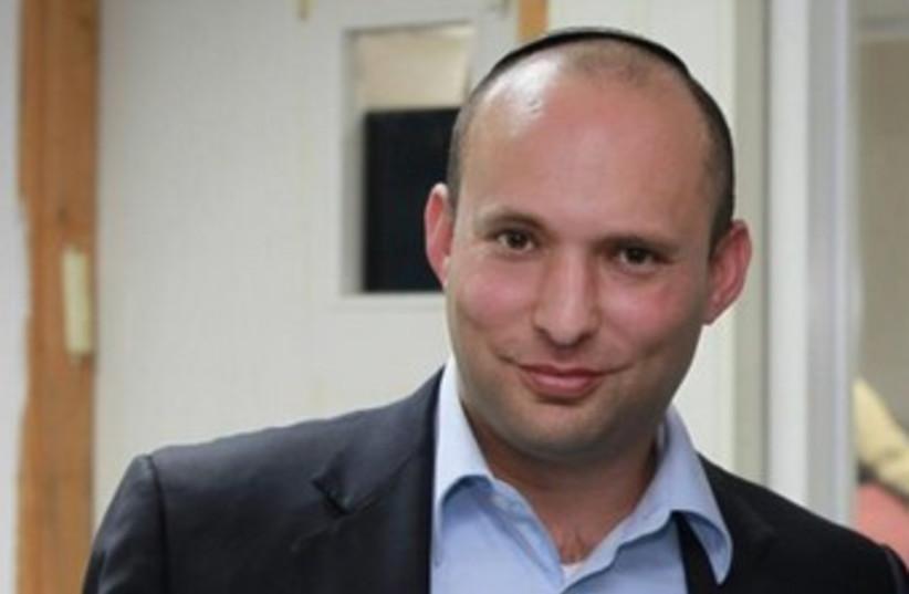 Bayit Yehudi leader Naftali Bennett 370 (photo credit: Marc Israel Sellem / The Jerusalem Post)