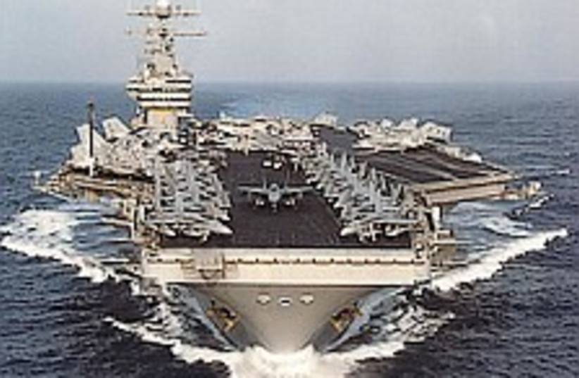 US carrier 224.88 (photo credit: AP)