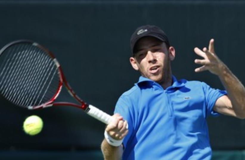 Tennis player Dudi Sela 370 (photo credit: Asaf Kliger)