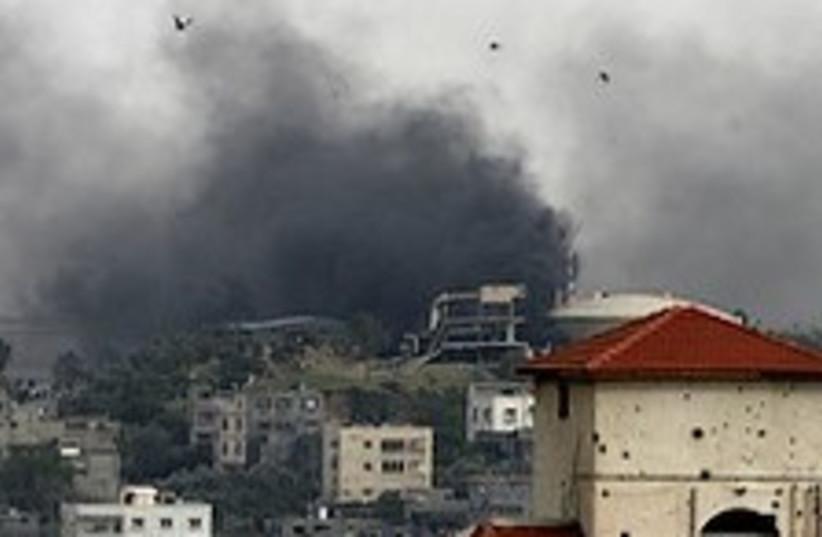 Gaza airstrike 224 (photo credit: )
