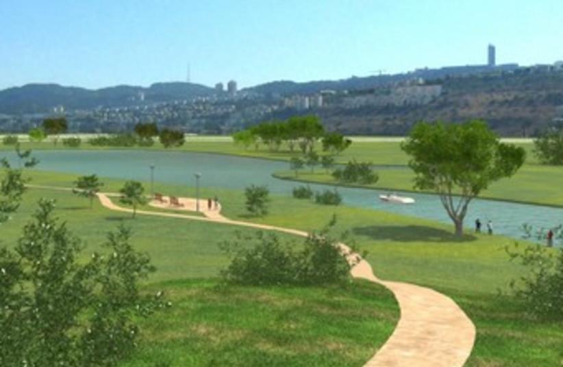 Kishon River  (photo credit: Gideon Markowitz)