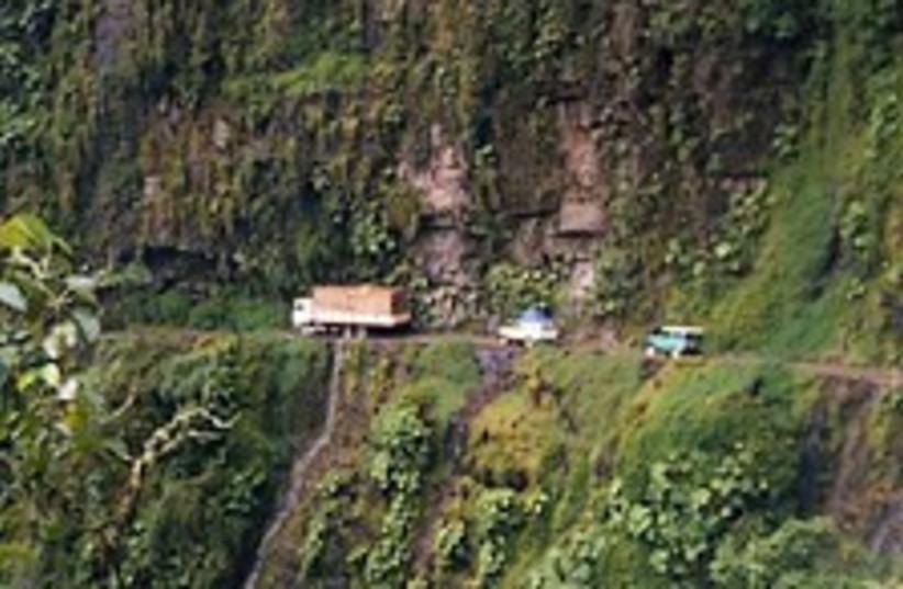 bolivia death road 224.8 (photo credit: Courtesy)