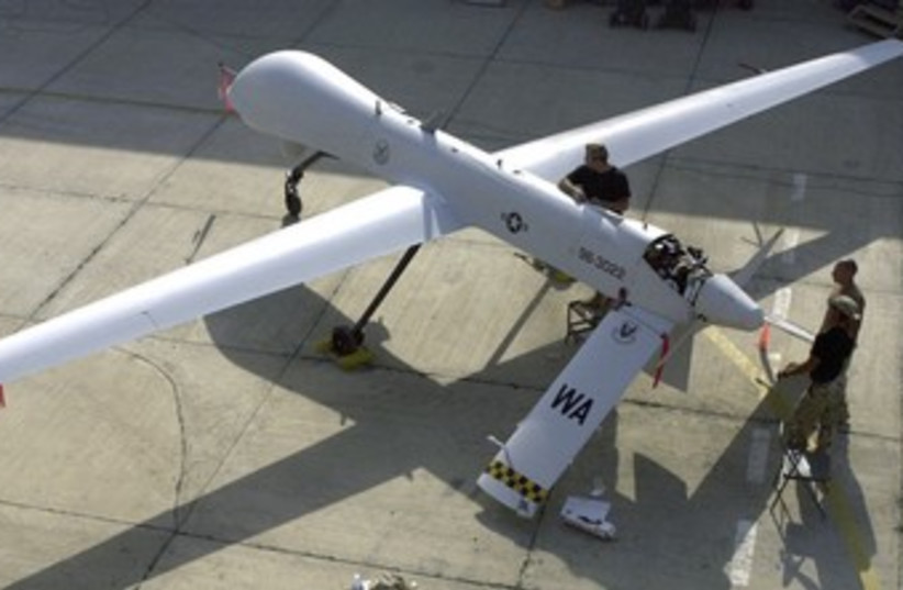 Drone 370 (photo credit: reuters)