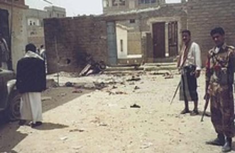 Yemen attack 224.88 (photo credit: AP)