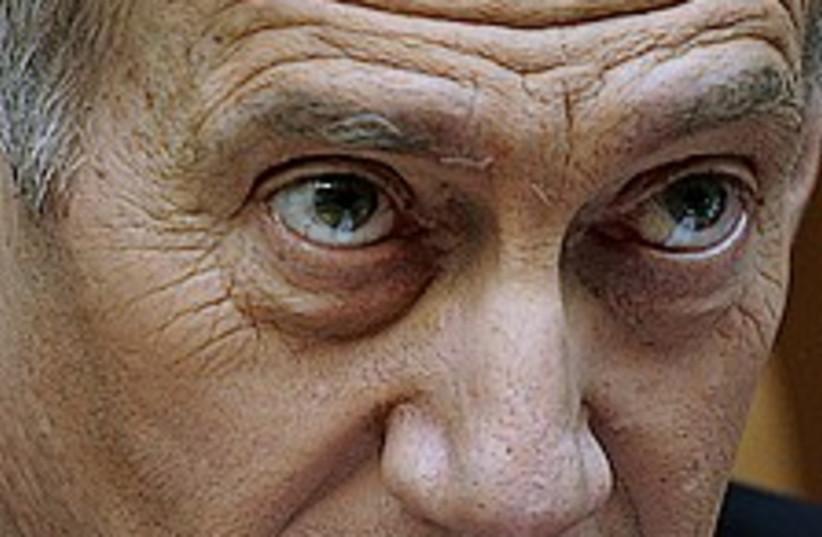 olmert angry 224.88 (photo credit: AP)