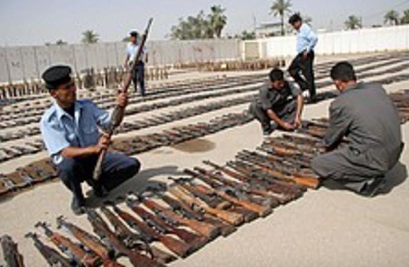 Iraq weapons 224.88 (photo credit: AP)
