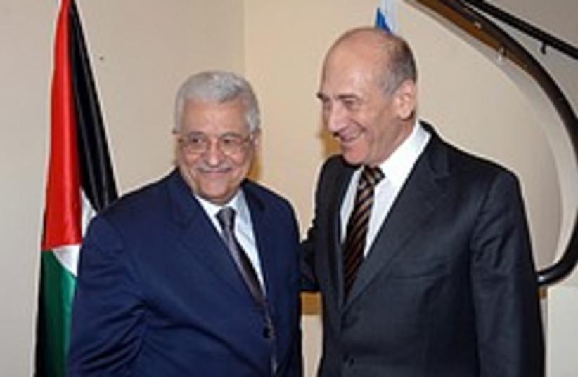 olmert abbas nice 224 88 (photo credit: GPO [file])