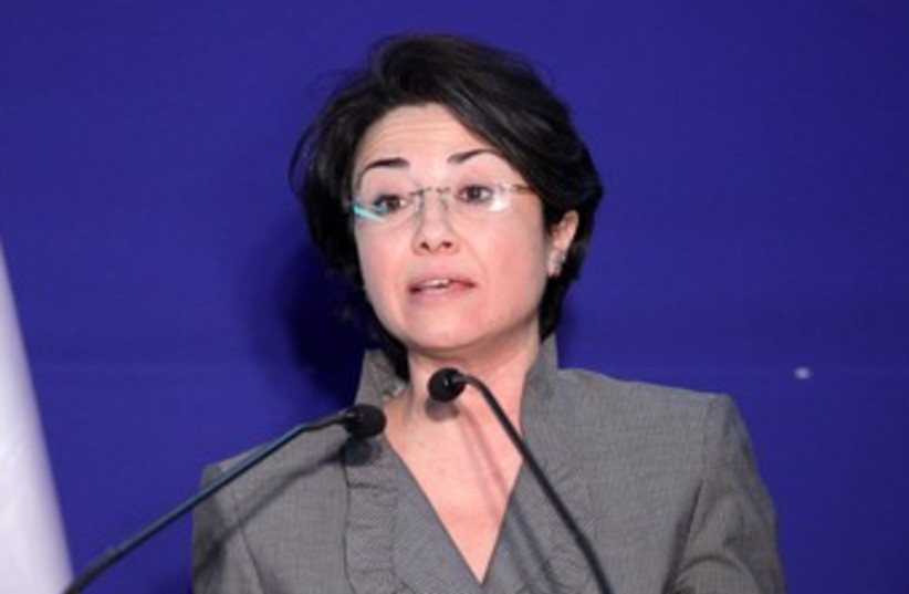 Haneen Zoabi (photo credit: Marc Israel Sellem/The Jerusalem Post)