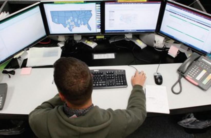 Cyber warfare 370 (photo credit: Rick Wilking/Reuters)