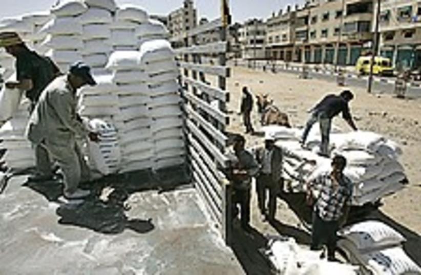 gaza aid 224.88 (photo credit: AP)