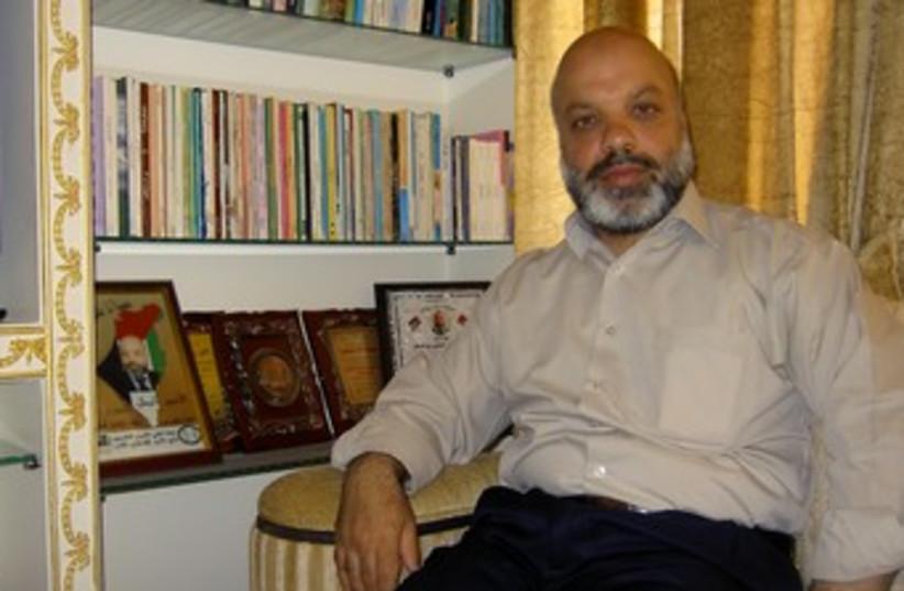 Hamas legislator Ahmed Attoun 370 (photo credit: Sam Sokol)