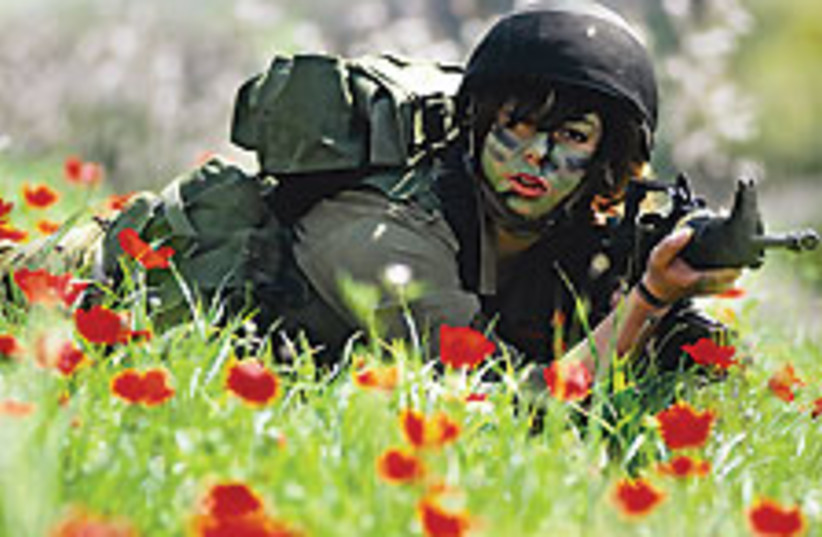 fem soldier 88 224 (photo credit: Courtesy)