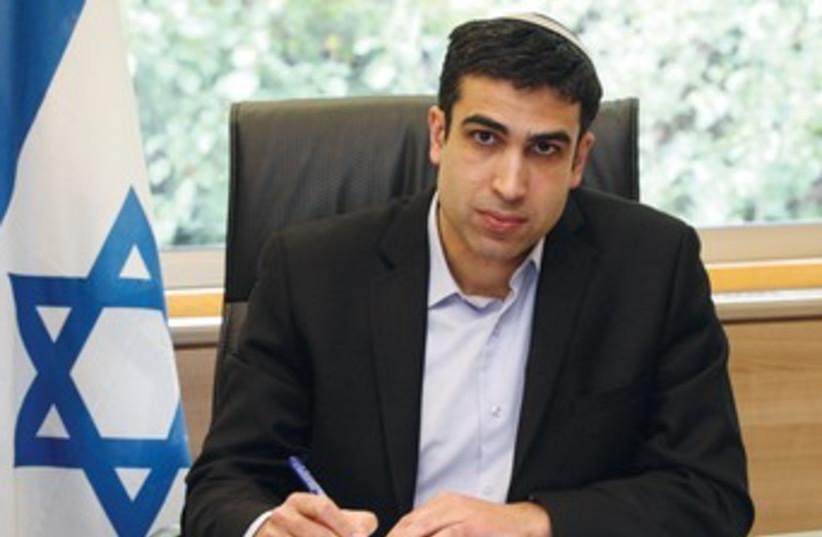 Yoni Chetboun (photo credit: Marc Israel Sellem/The Jerusalem Post)