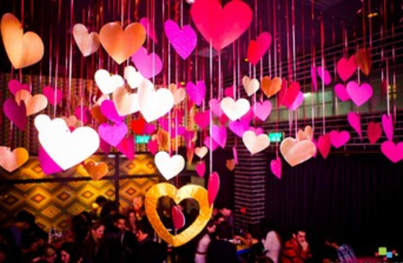 Valentine's Day at Toy Bar, Jerusalem 370 (photo credit: Courtesy)
