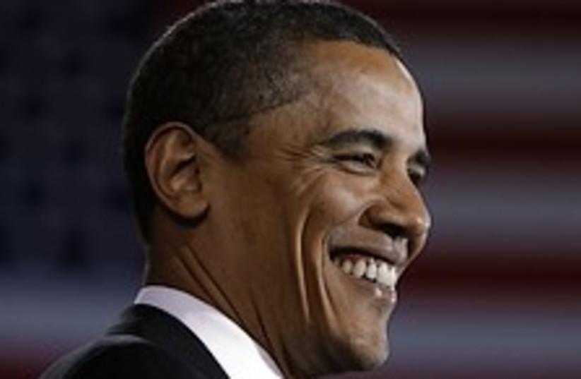 obama big smile 224,88 (photo credit: AP [file])