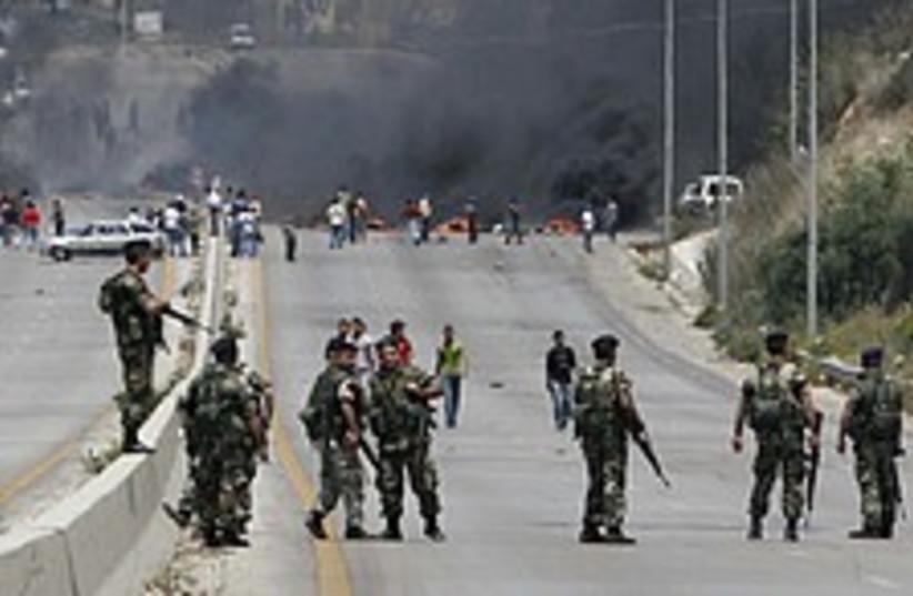 lebanon clashes 224.88 (photo credit: AP)